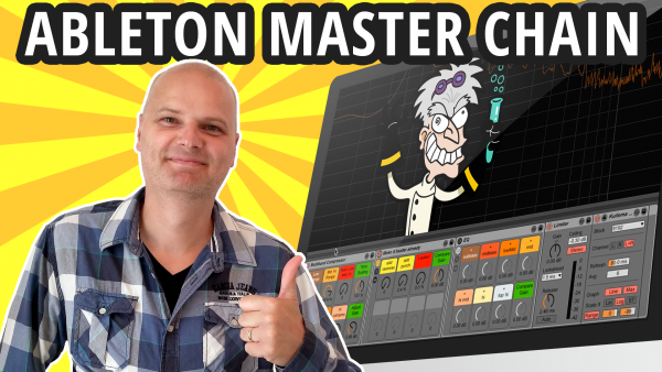 Ableton master chain, the PLAIN MASTER CHAIN
